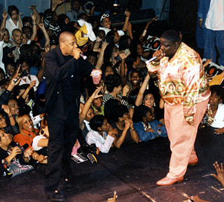 Notorious BIG performs Get Money with Jay-Z at Ralph McDaniels' Birthday Party (Video)
